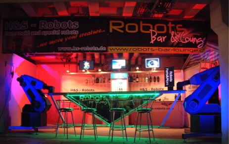 Robot Bartender and robot bar for hire